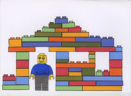 My class Lego village