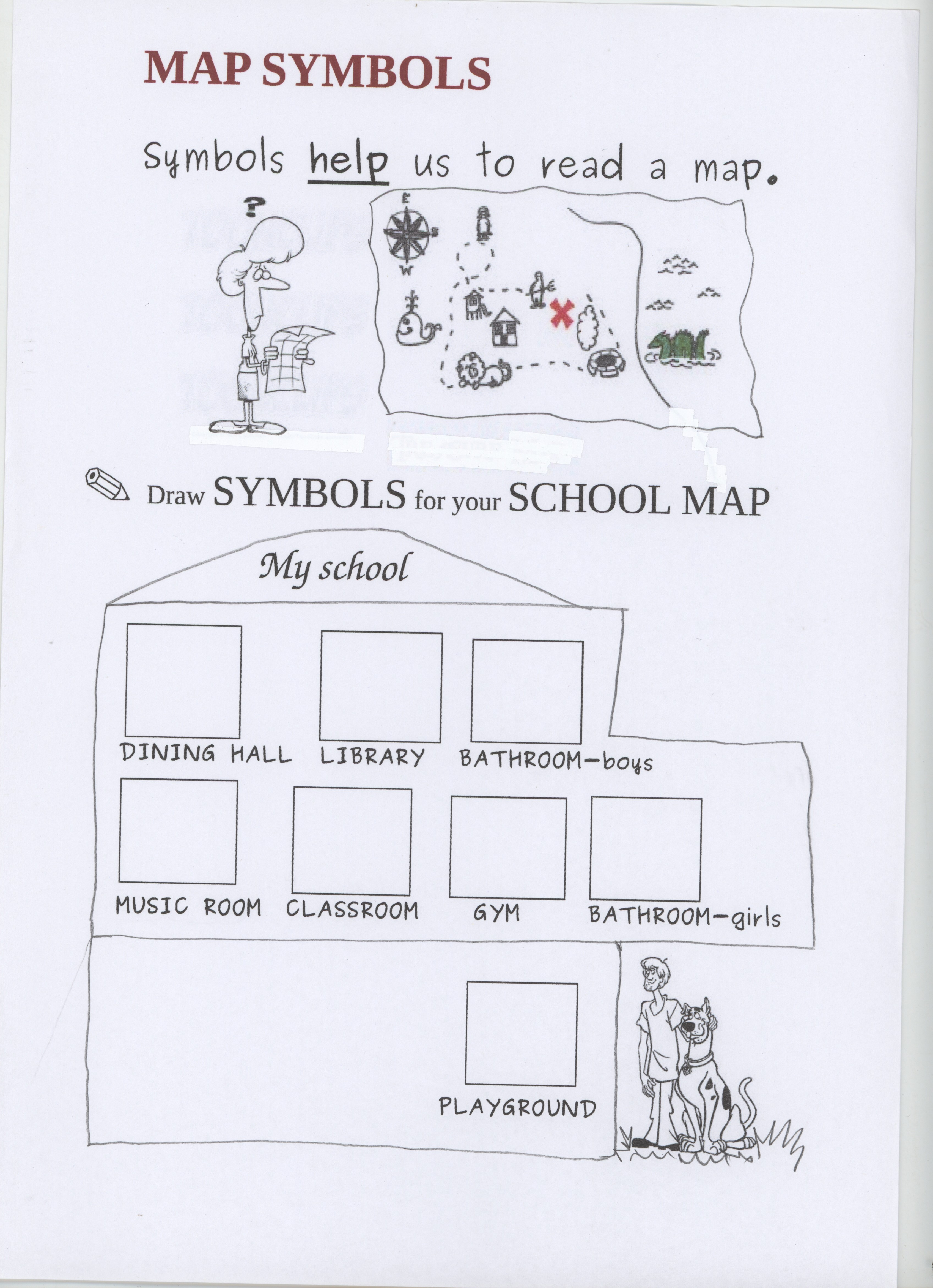 school map symbols