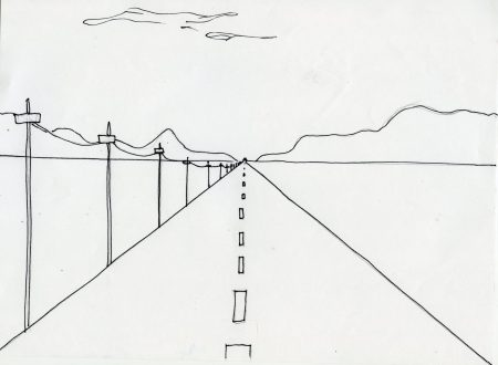 PERSPECTIVE DRAWING single point