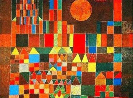 Paul Klee CASTLE AND THE SUN + biography