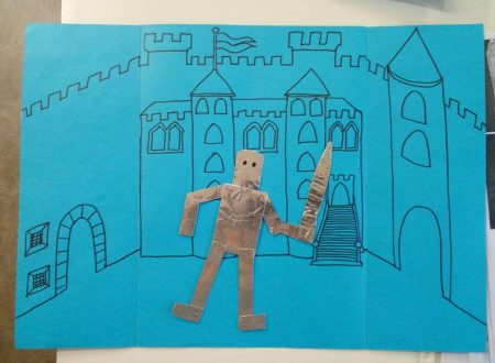Lapbook CASTLE + medieval knight