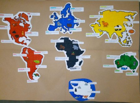 Our planet: the 7 continents