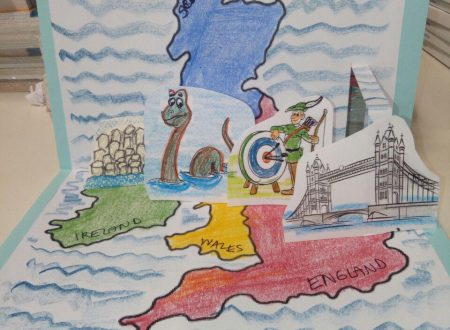 British Isles LANDMARKS pop-up